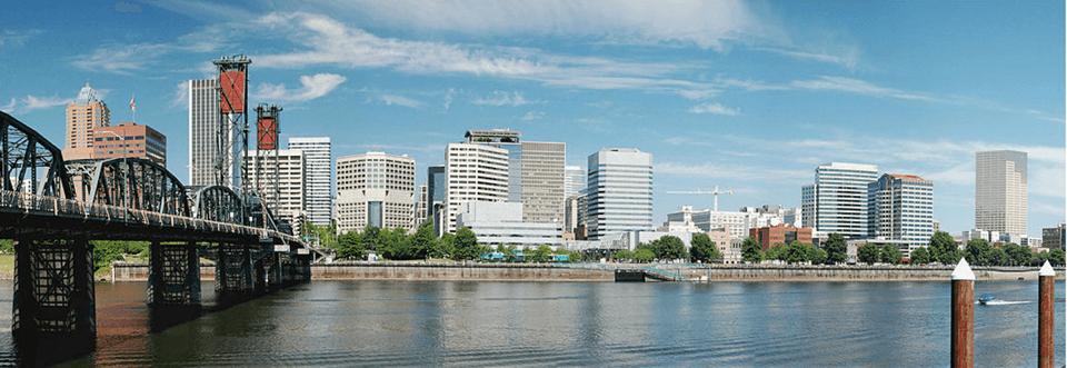 Portland City Center - Financial area